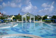 Beaches Turks and Caicos, French village pool.
