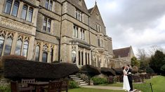 The stunning Neo-gothic wedding venue Nutfield Priory. A photographer's dream. Wedding Venues Surrey, Country House Wedding Venues, Hotel Wedding Venues, Mansion Hotel, Gothic Wedding, Countryside, Spa, Street View, Mansions
