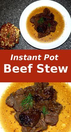 Instant Pot Beef Ste