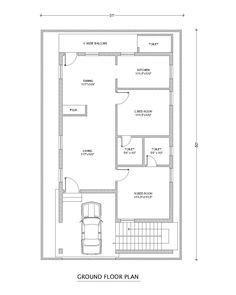 we are viewing west face plan In this paln Two bed rooms is or very good sizes not a large but use ful Both or attached toilets long view living room kitchen a 2bhk House Plan, Square House Plans, Model House Plan, Simple House Plans, House Layout Plans, Duplex House Plans, Family House Plans, Best House Plans, Bedroom House Plans