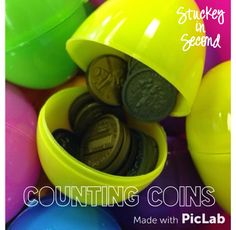 Stuckey in Second: Counting Coins {Day Before Spring Break Version!}