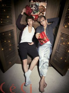 2PM's WOOYOUNG & 2AM's JOKWON – CeCi, BestFriend Stars' Private Party, Decemeber 2012 ⓒInterpark via W2D http://wild2day.org
