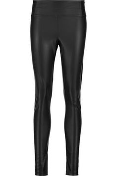 Shop Tart Collections Woman Sadi Faux Leather Leggings Black from stores. Tart Collections black Sadi pants- Faux leather - Elasticated waist, fully lined - Slip on- polyester, spandex - Dry clean Faux Leather Leggings, Black Leggings, Leather Pants, Tart Collections, Slip On, Spandex, Woman, Clothes, Shopping