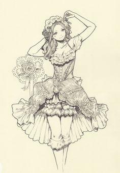 Yasahime Dresses