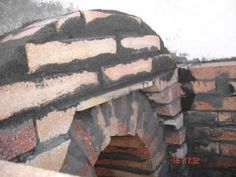 HORNO. CASERO Wood, Crafts, Bricks, Vegetable Garden, Kitchen Stove, Homemade, Madeira, Woodwind Instrument, Wood Planks