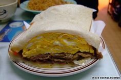 cha chaan teng/Fresh beef and egg sandwich 新牛蛋治 HK$20 Gala Café 嘉樂冰廳 G/F, 40B San Chuen St., Tsuen Wan; +852 2493 7308
