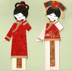 CHINESE ORIENTAL GIRL IN QING DYNASTY COSTUME by kirakirahoshi