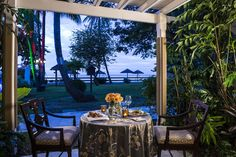 #privatedinner #romantic #candlelight #sandalsgrandeantigua | Sandals Resorts | Antigua
