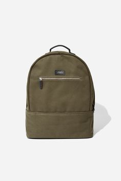 Saturdays Nyc Hannes Backpack Olive - Silver