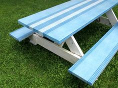 How to Spruce Up a Picnic Table