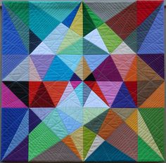 paper piecing modern quilts - Google Search