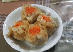Siomay Ayam Udang Asian Recipes, My Recipes, Cake Recipes, Cooking Recipes, Ethnic Recipes, Siomai, Fish And Meat, Indonesian Food, Dumpling