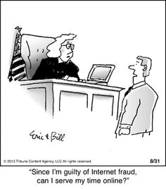 Bottomliners by Eric and Bill Teitelbaum Wednesday, February 2014 Cartoon Jokes, Funny Jokes, Funny Texts, Funny Signs, Hilarious, Lawyer Humor, Lawyer Logo, Prison Humor, I Love Sarcasm
