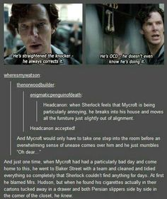 The Holmes brothers' antics