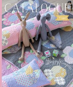 Tilda Happy Campers fabric range by Tone Finnanger, Australian quilt shop stocking the complete Tilda collection Colchas Quilt, Bird Quilt, Quilting, Camper Fabric, Cosy Christmas, Art Deco Movement, Summer Quilts, American Quilt, Cute Quilts