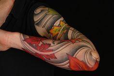 Japanese Maple Tattoo