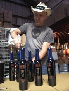My old Jerome blog and interviews, musings and such. Maynard Keenan (Tool lead singer) interview, when first starting Caduceus Wines.