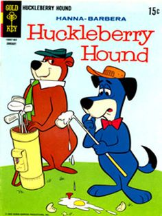 My fav toy as a child was my Huckleberry Hound stuffed animal :)