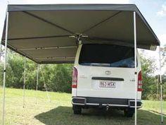 Supa Wing Awning Australian Made Camper Hacks, Diy Camper, Off Road Camping, Truck Camping, Tent Awning, Roof Top Tent, Cargo Trailer Camper, Van Design, Van Living