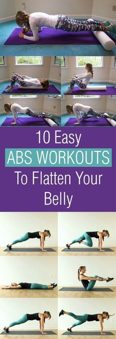 It's doesn't have to be hard to have those 6 packs start with these awesome workouts.