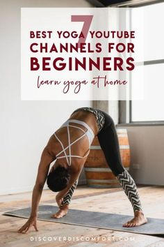 A quick look at the best channels for yoga on YouTube for beginners — after having done a whole bunch of videos. | best yoga youtube channels | yoga beginners learning | yoga beginners video | workouts at home | at home yoga workout | yoga workouts | how to start yoga | at home yoga for beginners | learn yoga at home #yoga #discoverdiscomfort Yoga For Beginners Youtube, Best Yoga For Beginners, Workout For Beginners, Easy Workouts, Yoga Workouts, At Home Workouts, Yoga Moves, Exercises, Exercise Routines