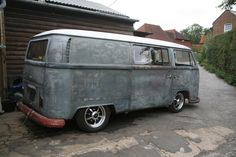 67 early bay panelvan