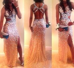 Open Back Long Rhinestone Sparkly Prom Dresses, Unique Prom Dresses, Most Popular Prom Dresses, Gorgeous Prom Dresses, Sparkly Prom Dresses, Open Back Prom Dresses, Unique Prom Dresses, Backless Prom Dresses, Grad Dresses, Prom Dresses Online, Mermaid Prom Dresses, Pretty Dresses