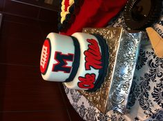 Ole Miss Rebel cake