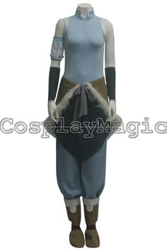 The Legend of Korra Korra Cosplay Costumes - CosplayMagic.Com