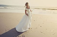 De bruidsjurk van Claire {made by Claire} - Pinterested @ http://wedspiration.com.