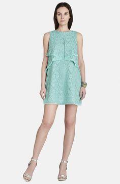 Pin for Later: Egal was für ein Budget: Seid der am besten gekleidete Hochzeitsgast $100-$250 BCBG Max Azria Tulle Trim Sleeveless Lace Shift Dress ($228)