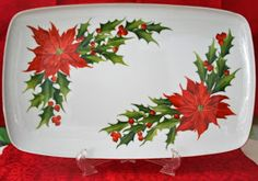 Christmas China, Christmas Dishes, Vintage Christmas, Christmas Design, Christmas Projects, Christmas Themes, Homemade Christmas, Christmas Crafts, Christmas Ideas For Boyfriend