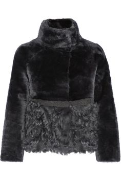 Tory Burch   Reversible shearling and leather jacket   NET-A-PORTER.COM
