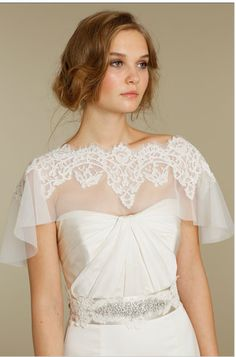 Lace overlay, so lovely. !!!! in love