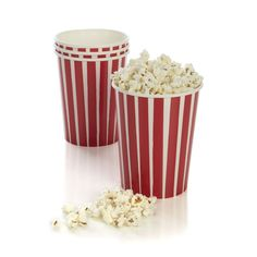 Set of 4 Popcorn Cups given w/Theater Popcorn Popper