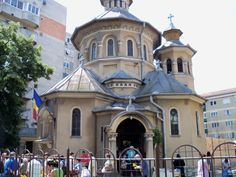 Bacau, Romania - I've been to this church.