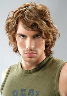 men's curly hair   Hairstyles Tips for Men with Curly Hair ~ Men Chic- Men's Fashion and ...
