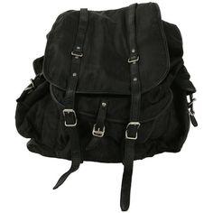 Silk Shannon Bag ($110) ❤ liked on Polyvore featuring bags, backpacks, accessories, bolsas, backpacks bags, allsaints, rucksack bag, knapsack bags and silk bag