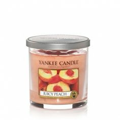 Juicy Peach : Small Tumbler Candle (single Wick) : Yankee Candle