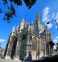 Church of Saint-Maclou in Rouen, France.