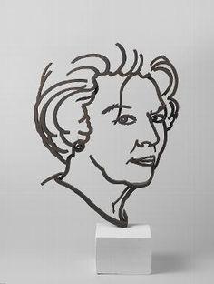 Queen Beatrix, 2000, Jeroen Henneman. www.rijksmuseum.nl