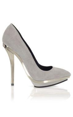 Versace Mirrored Heel Pump