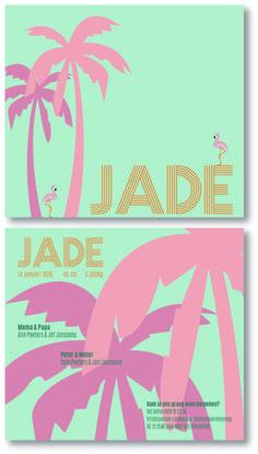 Miami Vice stijl voor Jade :-) Verkrijgbaar in de standaard collectie van www.loekadoe.com