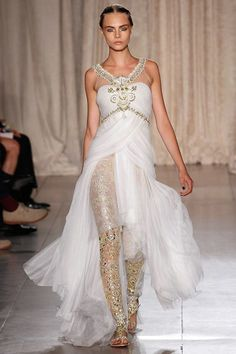 Marchesa Spring 2013 :: the leggings