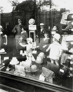 Paris store window by Eugene Atget