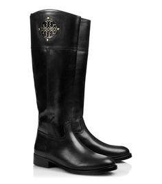 Tory Burch Riding Boots!I love and want these so badly! Let me go cry about how expensive these are.