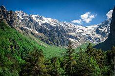 Цейское ущелье, Северная Осетия