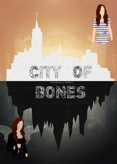 The mortal instruments city of bones. Shadowhunters Clary And Jace, Clary Fray, Mortal Instruments Books, Shadowhunters The Mortal Instruments, Immortal Instruments, Saga, Clockwork Angel, Cassie Clare, Cassandra Clare Books