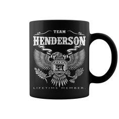 HENDERSON LIFETIME MEMBER mug