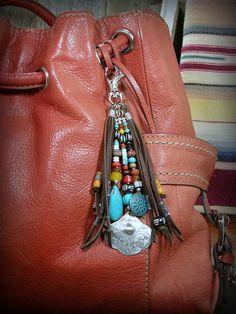 Southwest Tribal Bohemian Purse Clip, by StoneWearDesigns